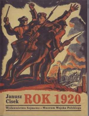 Rok 1920. Wojna polsko-bolszewicka - okładka książki