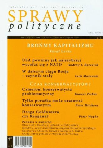 Sprawy polityczne 2/2010 - okładka książki