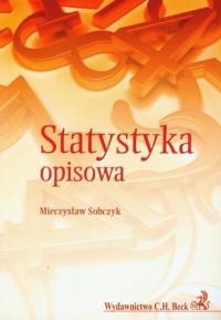 Statystyka opisowa - Mieczysław - okładka książki
