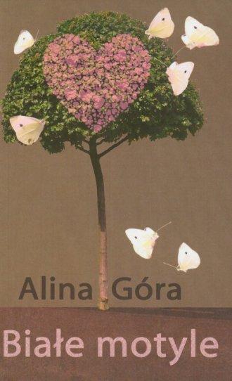 Białe motyle - okładka książki