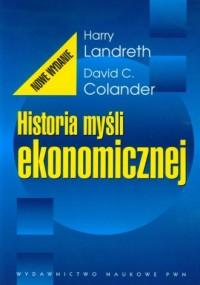 Historia myśli ekonomicznej - okładka książki