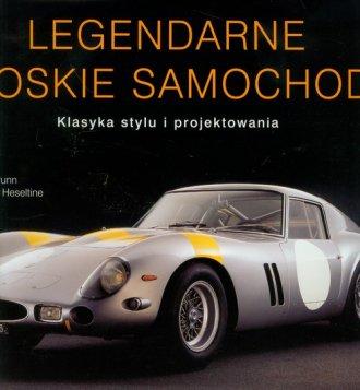 Legendarne włoskie samochody. Klasyka - okładka książki