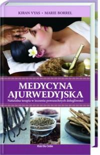 Medycyna ajurwedyjska - okładka książki