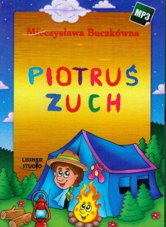 Piotruś Zuch (CD mp3) - pudełko audiobooku