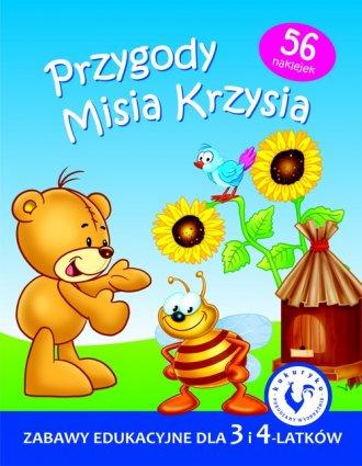 Przygody Misia Krzysia - okładka podręcznika