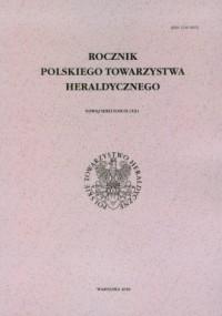 Rocznik Polskiego Towarzystwa Heraldycznego. Tom IX - okładka książki