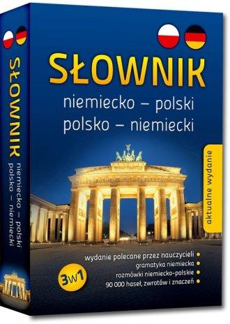 Słownik niemiecko-polski polsko-niemiecki. - okładka podręcznika