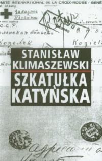 Szkatułka katyńska - okładka książki