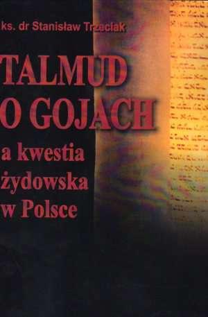 Talmud o gojach a kwestia żydowska - okładka książki