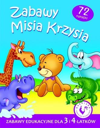 Zabawy Misia Krzysia - okładka podręcznika