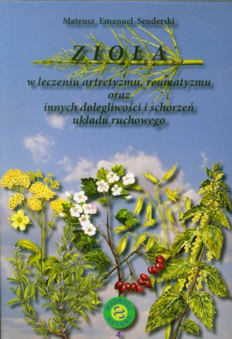 Zioła w leczeniu artretyzmu, reumatyzmu - okładka książki