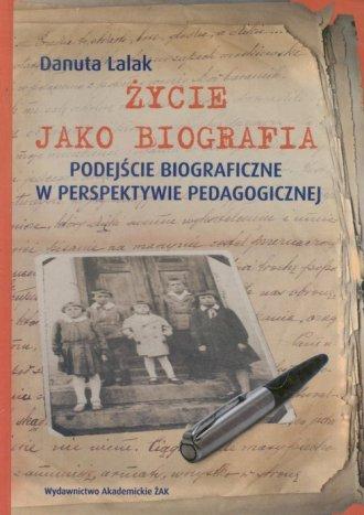 Życie jako biografia - okładka książki
