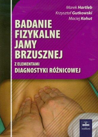 Badanie fizykalne jamy brzusznej - okładka książki