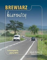 Brewiarz kierowcy (+ CD mp3) - okładka książki