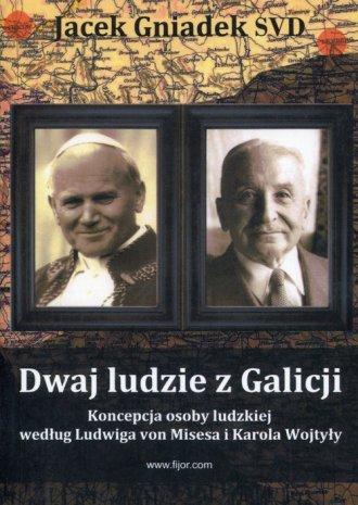 Dwaj ludzie z Galicji - okładka książki