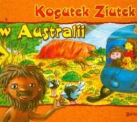 Kogutek Ziutek w Australii - okładka książki