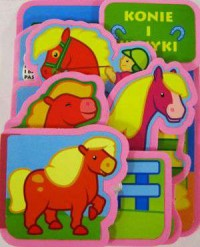Konie i kucyki - okładka książki