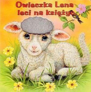 Owieczka Lena leci na księżyc - okładka książki