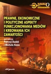 Prawne ekonomiczne i polityczne - okładka książki
