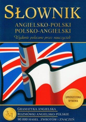 Słownik angielsko-polski, polsko-angielski. - okładka podręcznika