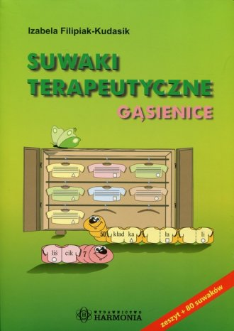 Suwaki terapeutyczne. Gąsienice - okładka książki
