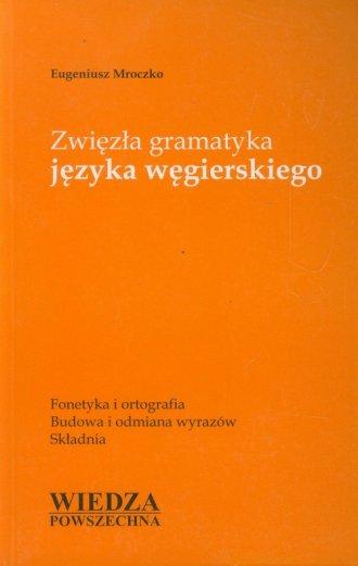 Zwięzła gramatyka języka węgierskiego - okładka książki