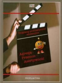 Agresja. Przemoc. Asertywność + DVD - okładka książki