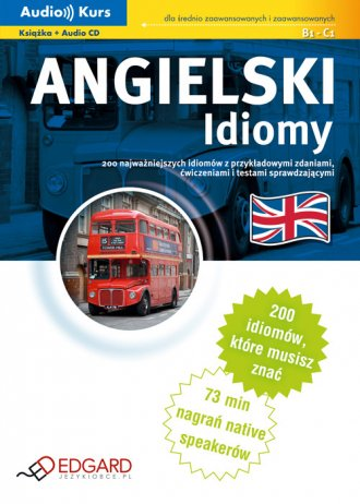 Angielski. Idiomy (+ CD) - okładka podręcznika