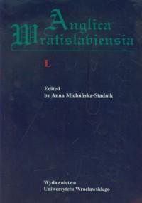 Anglica Wratislaviensia XLVIII - okładka książki