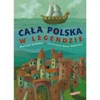 Cała Polska w legendzie - okładka książki