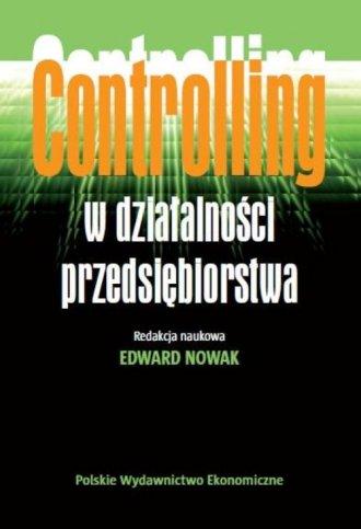 Controlling w działalności przedsiębiorstwa - okładka książki