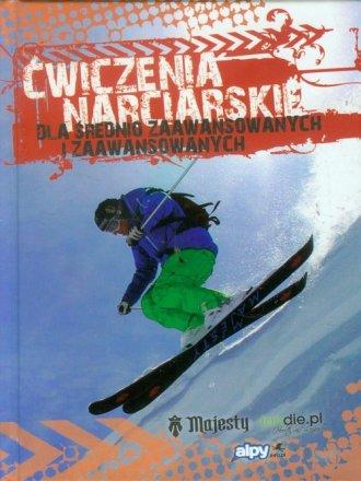 Ćwiczenia narciarskie dla średnio - okładka książki