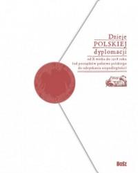 Dzieje polskiej dyplomacji - Marek - okładka książki