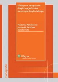 Efektywne zarządzanie długiem w jednostce samorządu terytorialnego - okładka książki
