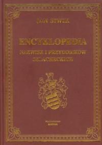 Encyklopedia nazwisk i przydomków szlacheckich - okładka książki