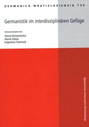 Germanica Wratislaviensia 130. - okładka książki