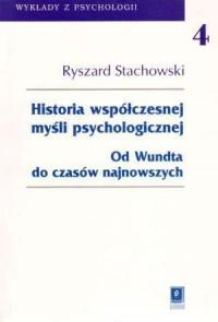 Historia współczesnej myśli psychologicznej. Od Wundta do czasów najnowszych - okładka książki