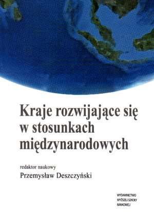 Kraje rozwijające się w stosunkach - okładka książki