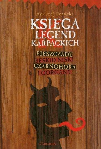Księga legend karpackich - okładka książki
