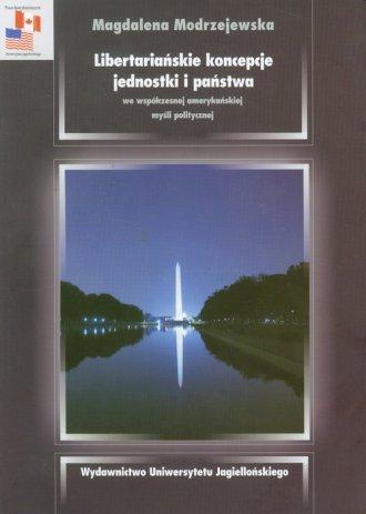 Libertariańskie koncepcje jednostki - okładka książki