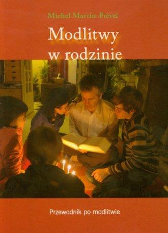 Modlitwy w rodzinie - okładka książki