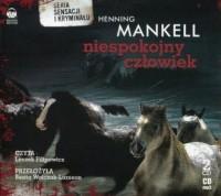 Niespokojny człowiek (CD mp3) - pudełko audiobooku