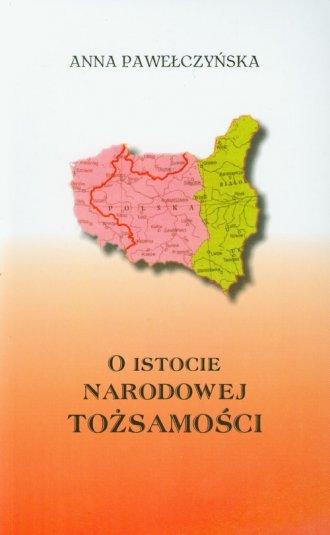 O istocie narodowej tożsamości - okładka książki