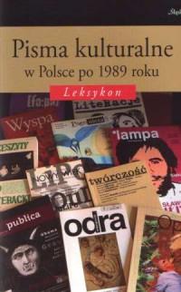 Pisma kulturalne w Polsce po 1989 - okładka książki