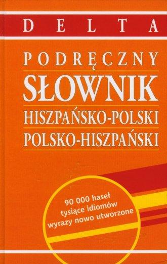 Podręczny słownik hiszpańsko-polski, - okładka podręcznika