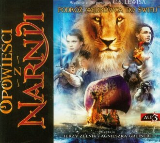 Opowieści z Narnii. Podróż Wędrowca - pudełko audiobooku