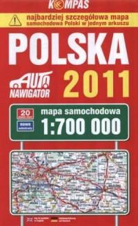 Polska (mapa samochodowa 1:700 000) - okładka książki