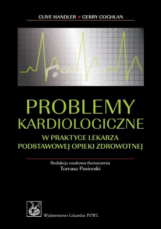 Problemy kardiologiczne w praktyce - okładka książki
