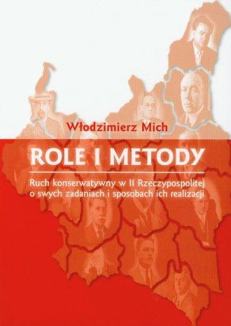 Role i metody. Ruch konserwatywny - okładka książki