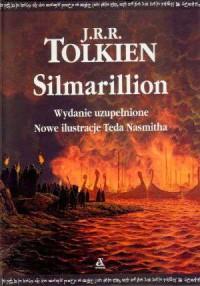 Silmarillion - J.R.R. Tolkien - okładka książki